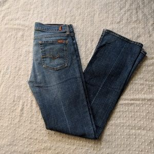 7 For All Mankind boot cut jeans size 29